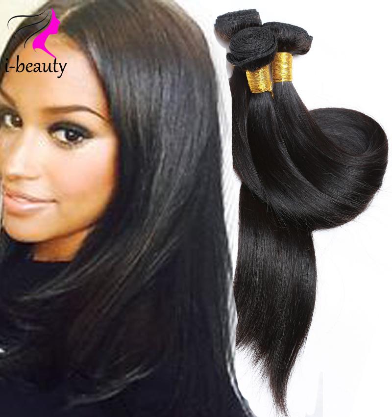 Virgin Maylasian Hair Straight 7A Unprocessed Virgin Hair Weave Cheap Straight Human Hair Bundles Malaysian Virgin Hair Straight