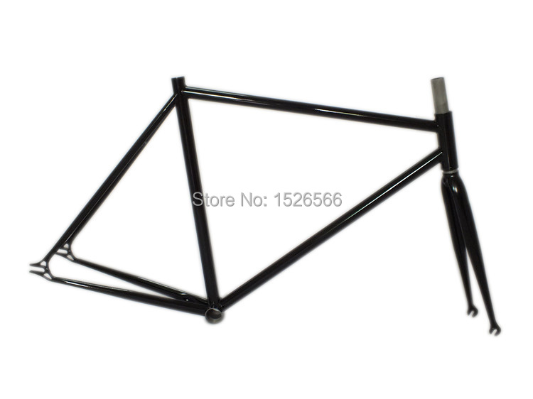 Urban Bike - Fixed Gear cycling bike Bicycle Frame fork chrome molybdenum steel 4130 700C / 53 frame combination multicolor(China (Mainland))