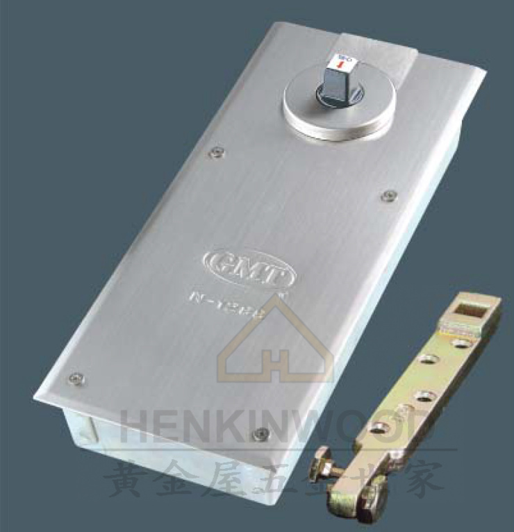 Taiwan GMT ground spring all directional adjustable glass door hinge N-1288D(China (Mainland))