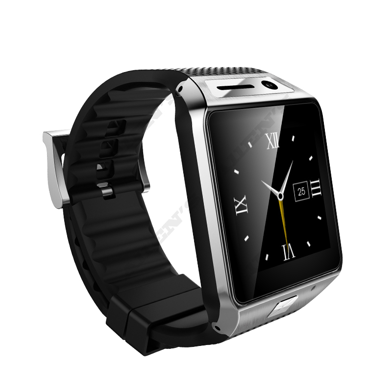 """New Smart Watch GV08S 1.54"""" TFT IPS LCD Watch Phone 1.3M Camera 500mAh GSM Android Smart Phone Watch Sync Facebook Twitter(China (Mainland))"""