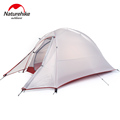 4 seasons Outdoor Portable Double layer Camping Tent Camouflage for 1 Person Lightweight Waterproof PU8000mm NatureHike