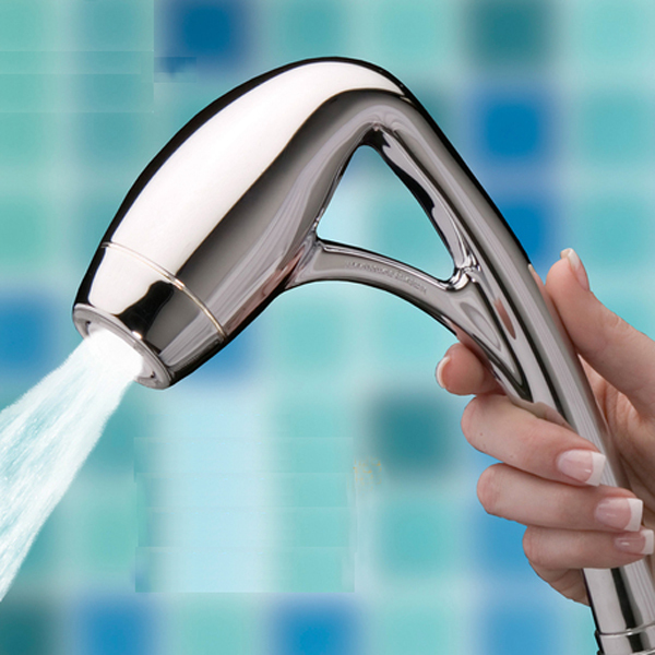 Body Spa 2.0 GPM Handheld Shower Head waterfall massage Shower Head with Hose(China (Mainland))
