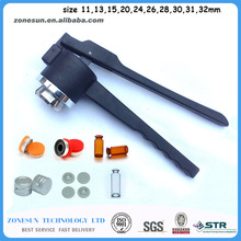 "Vial crimper 20 mm manual Vial ""Hand"" Crimper for Use with 20 mm Crimp Seals, Crimper / Capper / Vial(China (Mainland))"