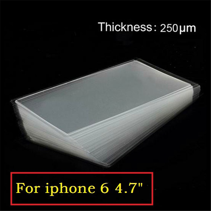 Клей 250UM iPhone 6 6 G 4,7 4,7' , 20pcs/lot 6 6G free shipping 50 pcs lot oca optically clear adhesive tape for iphone 5 5c 5s 6 7 8 8p x 4 4 7 5 5 inches thickness 250 um