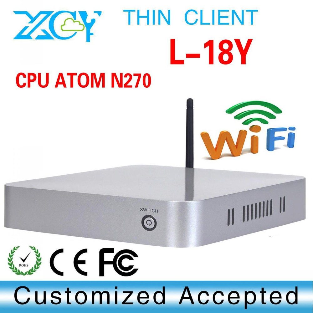 2015 MINI PC Intel ATOM N270 Barebone PC Hdmi Windows 8.1/8/7/XP WIFI Low Power Mini Desktop Computer thin Client(China (Mainland))