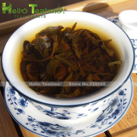 [HT!]Dahongpao tea 125g light-heat baked big red robe tea wuyi da hong pao oolong wuyi rock tea da hung pao china tea on sale(China (Mainland))