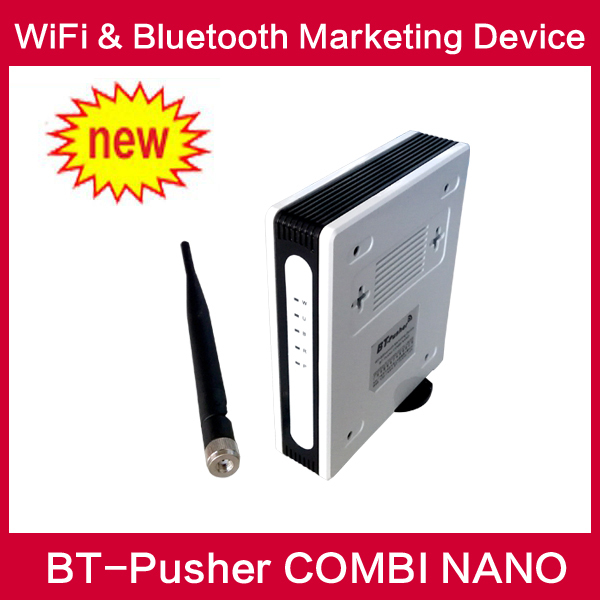 BT-Pusher wifi bluetooth mobiles proximity advertising marketing COMBI NANO Device with battery,car charger and 3G/gprs(China (Mainland))