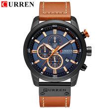 Reloj de cuarzo cronógrafo de lujo de primera marca, relojes deportivos para hombres, reloj de pulsera militar para hombres, reloj CURREN, reloj masculino(China)