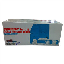 [HERCULES HOBBY] TAMIYA 1 14 Scale Tractor Truck Actros 1851 Complete Body 2 axle(China (Mainland))