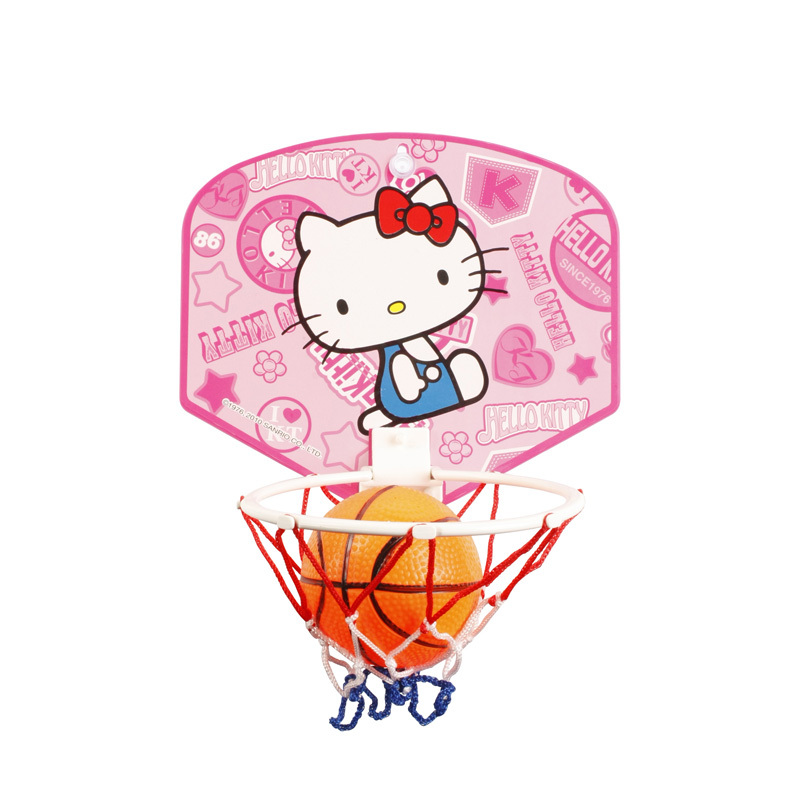 2014 Promotion Wholesale Hello Kitty Mini Indoor Basketball Board For Sports HA5001-KC(China (Mainland))