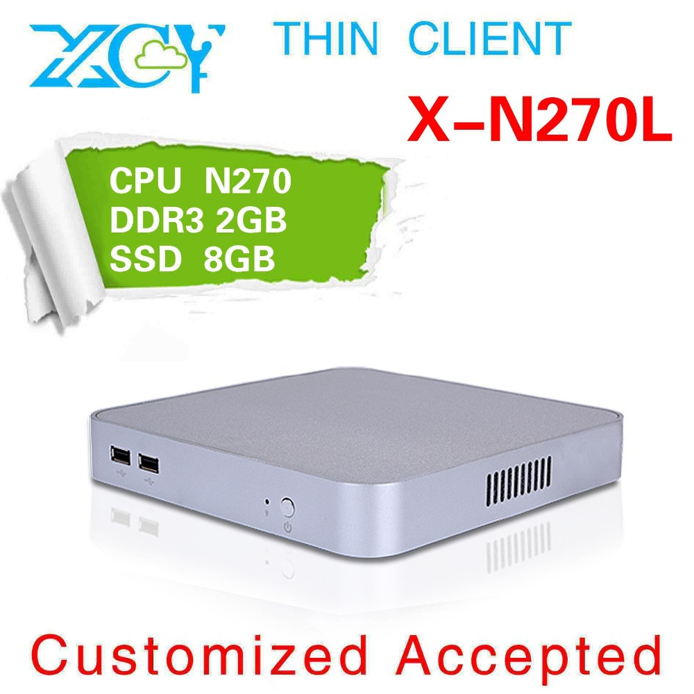 High-performance Powerful energy-saving CPUs micro desktop Atom N270 1.6 GHZ 8G RAM 50G HDD office cmputer(China (Mainland))