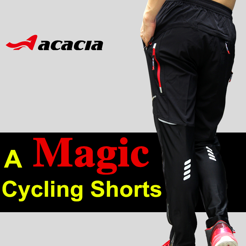 2015 New Breathable Cycling Pants Men&Woman Bicycle Running Hiking Fitness Multi-use Outdoor Sports Trousers Cycling Clothings(China (Mainland))