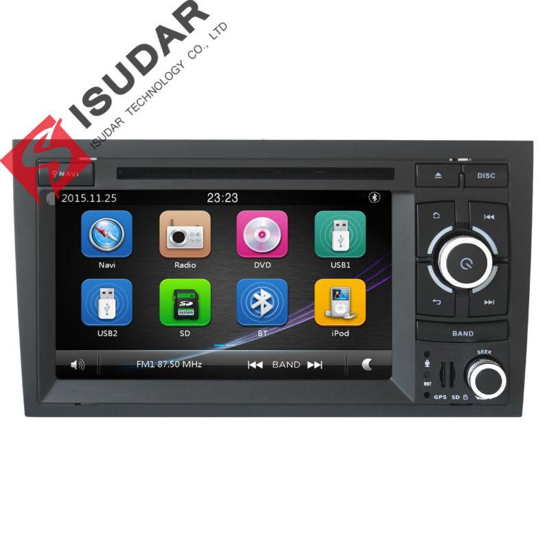 2 Din 7 Inch Car DVD Player For Audi/A4 2002-2008 Canbus Radio GPS Navigation Free Map FM 3G USB Host Ipod Original Frame(China (Mainland))