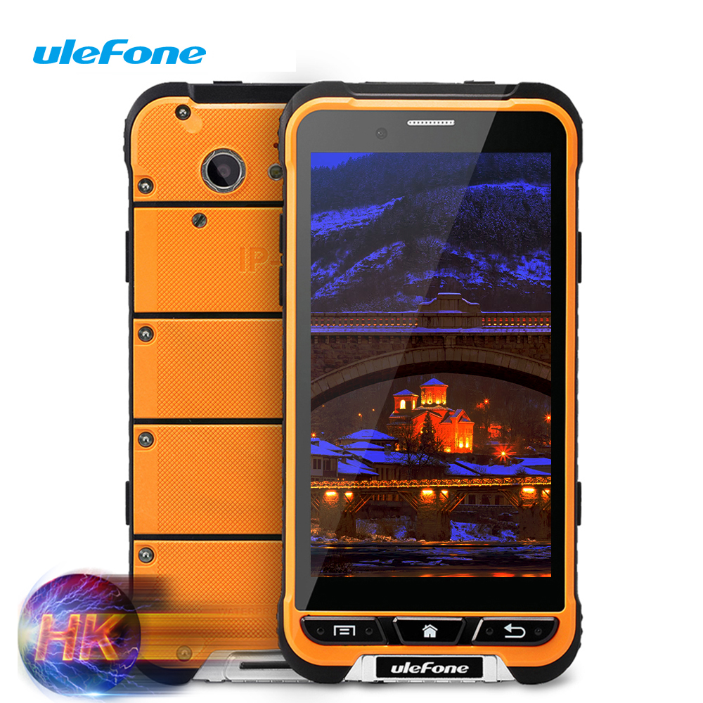 New Arrivial Ulefone Armor Waterproof Smartphone 4G LTE MTK6753 Octa Core 3G+32G 13MP Shockproof 3500mAh WCDMA 3G Android 6.0(China (Mainland))