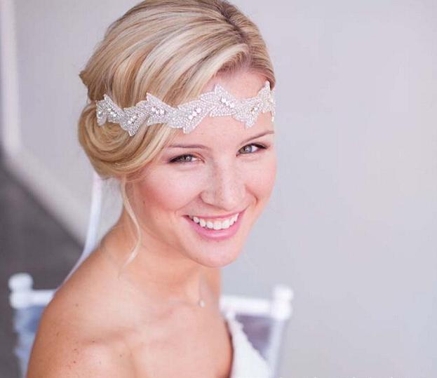 European style luxury bridal headband crystal beautiful wedding hair accessories fashion women's head decoration(China (Mainland))