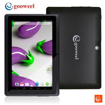 """NEW Gooweel Q8HD 7""""HD 1024x600 Bluetooth A33 Quad core tablet pc android 4.4 1.3GHz RAM DDR3 512MB ROM 8GB Dual Camera WiFi OTG"""