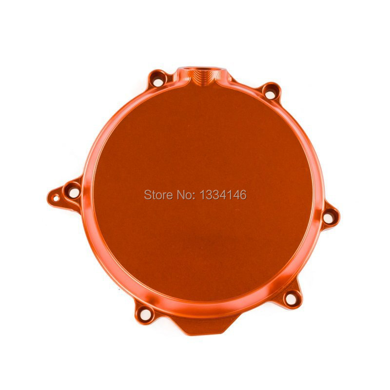New CNC Billet Engine Clutch Cover Outside For KTM 250 EXC-F 2007  2008 2009 2010 2011 2012 2013