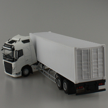 1:50 Scale Model Volvo Trucks FH With Container Alloy Diecast Car Toys Collection(China (Mainland))