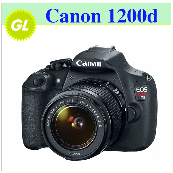 New 2014 Original Brand New Canon EOS 1200D dslr cameras Full HD with EF-S 18-55mm f/3.5-5.6 IS II lens camera canon(China (Mainland))