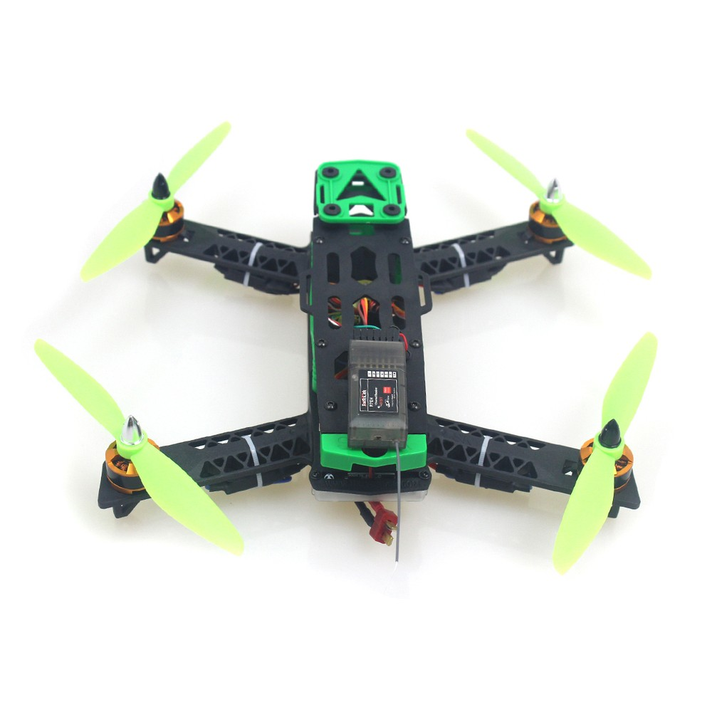 Mini CC3D 260 RC Quadcopter Drone Kit Integrated Frame Helicopter Aircraft No Battery