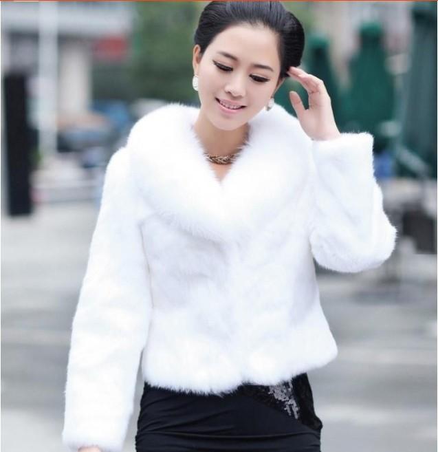Cheap White Fur Coat