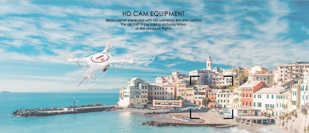 New roll out Syma X5UC 6-axis Gyro With 720P HD Camera Altitude Hold Mode 360 degree eversion Drone 4CH RC Quadcopter RTF