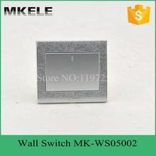 Mk-ws05002 ( серебро ) CE огнезащитный материал серебро цвет 1 банды 2 способ электрическая стена лёгкие переключатель для для дома