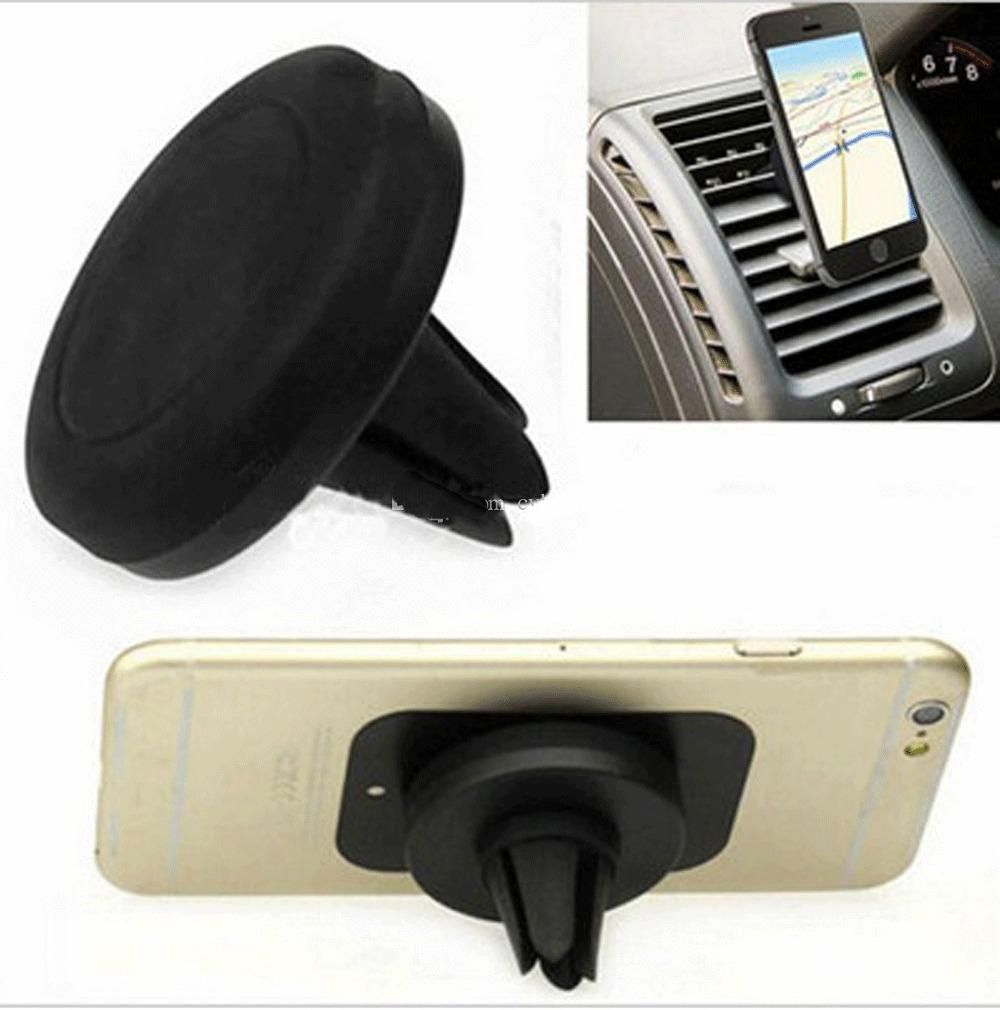 Magnet Car Cell Mobile Smart Phone Holder Mini Air Vent Mount Handfree Dashboard Magnetic Metal For Cellphone iPhone Samsung(China (Mainland))