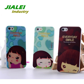 Case For Iphone5 5G Lovely Korea Sweetheart Baby Luxury Cover Shockproof Dirt-resistant Delicate Design Wholesale 15Pcs/lot
