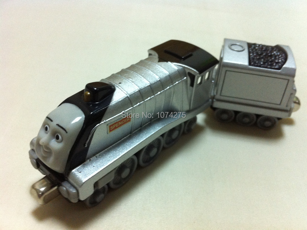 Thomas & Friends Spencer With Tender Magnetic Metal Toy Train Loose Loose Brand New In Stock & Free Shipping(China (Mainland))