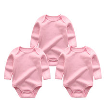 2019 3PCS/Lot Girls Baby Sets Unisex Newborn Unicorn Baby Boy Clothes Cotton Baby Girl Clothes Jumpsuit Newborn(China)