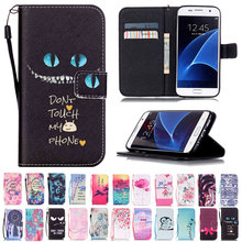 Credit Card Holder Wallet Stand Flip Leather Cover For Samsung Galaxy S8 Plus S7 edge J5 J7 A3 A5 2016 2017 Protective Case(China (Mainland))