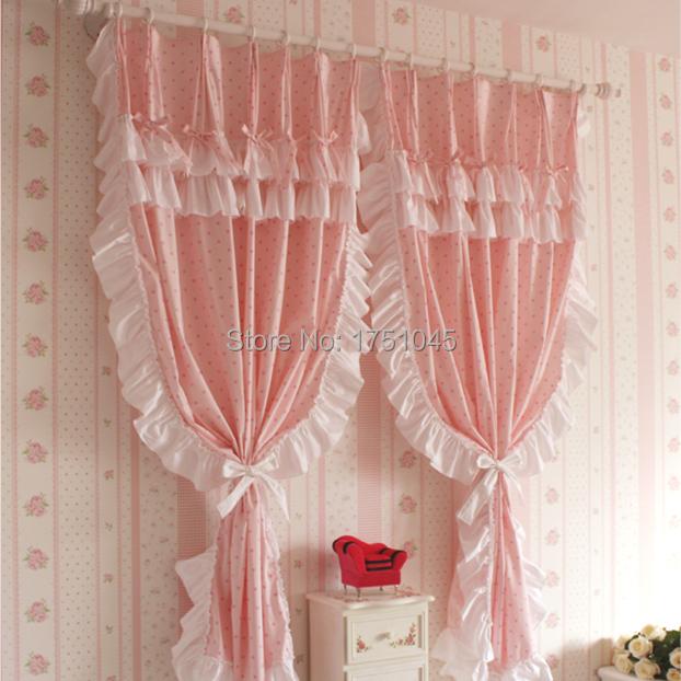 Vorhange Fur Wohnzimmer : Hohe qualität mordern bettwäsche vorhänge rosa cortinas spitze