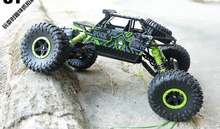 1/18 scale 2.4Ghz electric rc car 4wd remote control toy cars rock crawler buggy(China (Mainland))