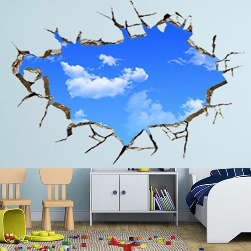 Ciel tage promotion achetez des ciel tage promotionnels - Stickers muraux nuages blancs ...
