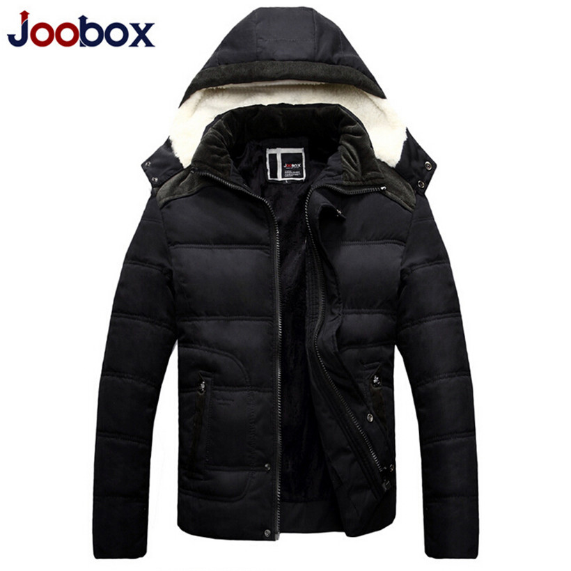2015 New Mens Winter Jacket Men's Hooded Wadded Coats Outerwear Male Slim Casual Cotton Outdoors Outwear Jackets Hot Sale