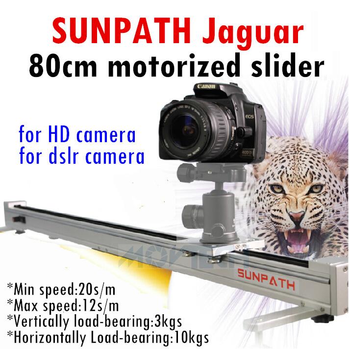 Sunpath 80cm Motorized Dslr Camera Slider Dolly Track