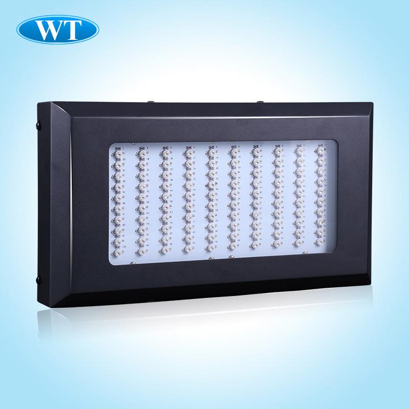 2015 Hot sells 300W LED Grow Light Full Spectrum 6 Band 100 x 3W Hydro Grow Light LED Free Hanging Kit flowers seed tomatoes(China (Mainland))