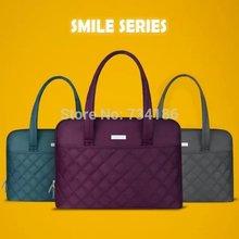 Fashion Cheap Shoulder Handbag Laptop bag 14 Notebook Case 13 Women Business Casual Computer Bag Laptop Briefcase Female Ladies(China (Mainland))