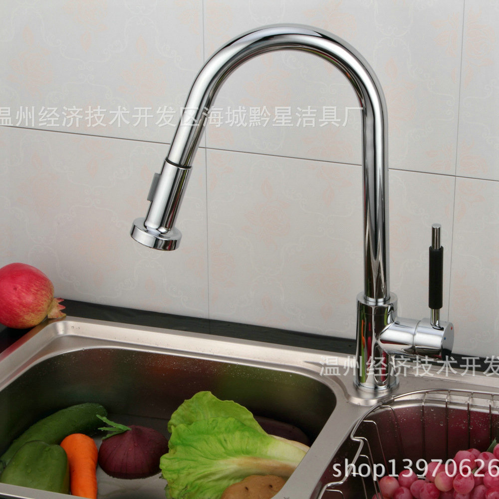 kitchen faucet pull out hot cold Faucet grifos for kitchen kitchen faucet electric kitchen faucet DCF-12<br><br>Aliexpress