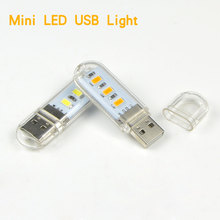 1Pcs New Mini USB LED Book lights Camping lamp For PC Laptops Computer Notebook Mobile Power Charger Reading Bulb Night light(China (Mainland))