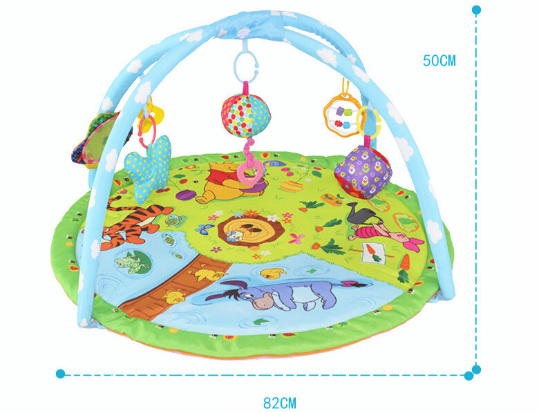 musical baby play rug fashion baby's gym mat gift toys 0-24 months,color box tapete infantil blanketYAU8022