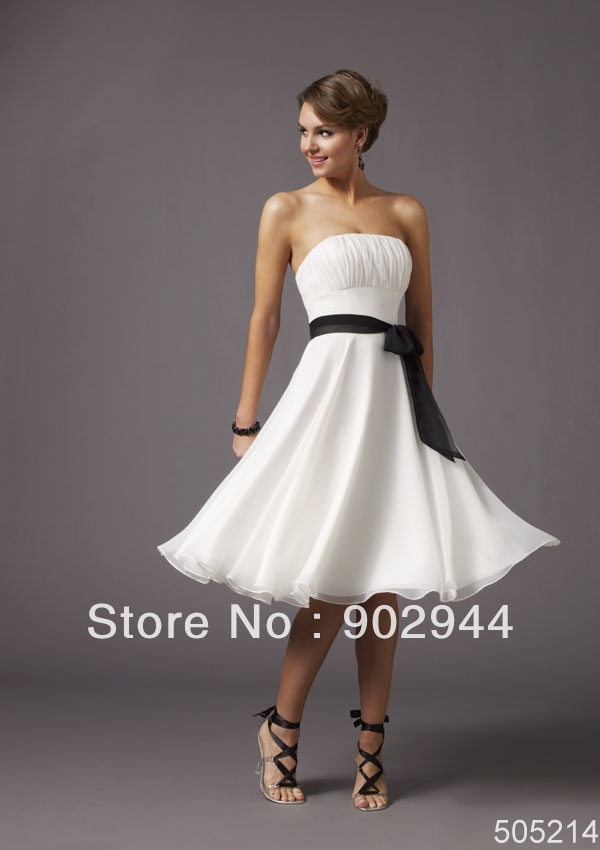 Black White And Yellow Bridesmaid Dresses - Wedding Dress Ideas