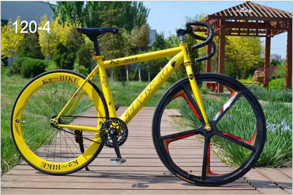 5Colors 6 Speed Fixed Gear Bike Bicicleta Mountain Bicycle Cycling Road Bike Fixie Bike(China (Mainland))