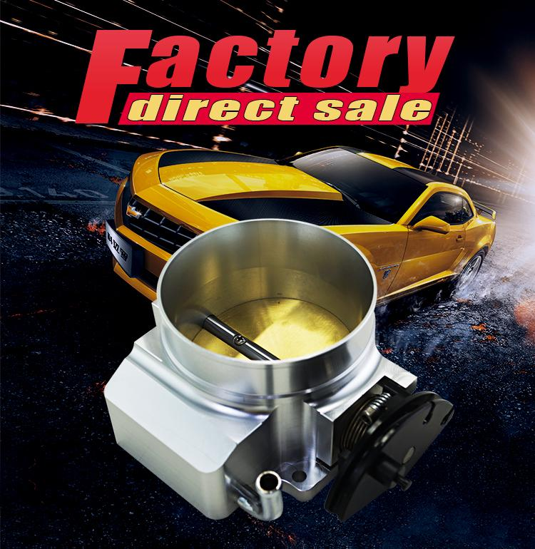 VR RACING-NEW THROTTLE BODY FOR 92MM FOR GM GEN III LS1 LS2 LS6 THROTTLE BODY LS3 LS LS7 SX LS 4 BOLT CABLE VR6937