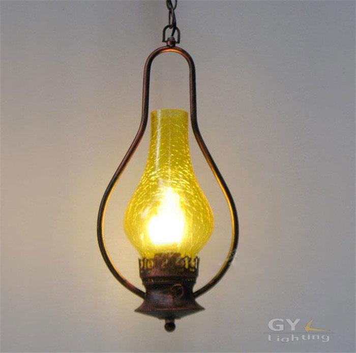 Retro nostalgia rustic pendant lights lamps Lounge restaurant inn lantern kerosene lamp luminaire suspendu bois lustres lampes(China (Mainland))