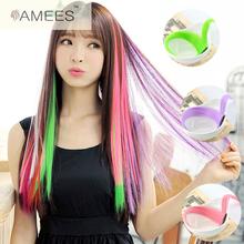 15 color 55cm New hair extension purchasing false hair high quality matte outlet temperature of 15 colors 1clip  braiding hair
