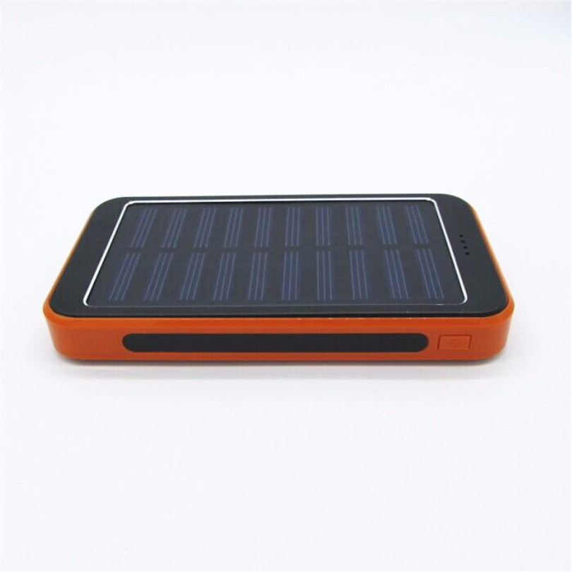 LED light board polymer solar charging treasure anti fall camping lamp mobile power supply 30000 mAh