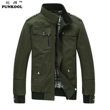 New Fashion Men Army Military jackets  men winter  Outerwear  College Military Sportswear Men Jackets Outdoor Slim Warm Overcoat