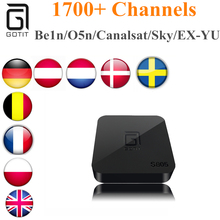 Buy GOTiT Arabic IPTV Royal IPTV French IPTV S905X Europe IPTV 1700 Channels Quad Core Smart TV 1G/8G Android TV Box Set Top Box for $95.00 in AliExpress store